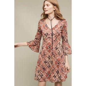 Anthropologie Maeve Erina Swing Dress Size Small